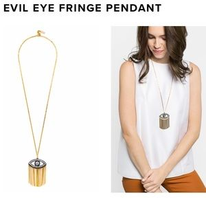 Evil Eye Fringe Pendant